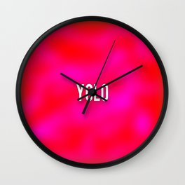 rasberry Wall Clock