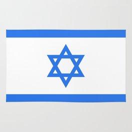 Israel Flag Rug