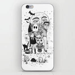 Halloween toothache iPhone Skin