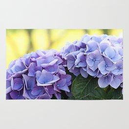 Purple hydrangea(1) Rug
