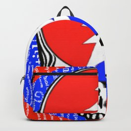 ripple your face Backpack