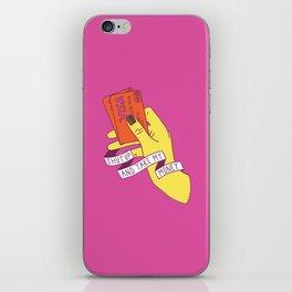 Shut Up and Take My Money iPhone Skin