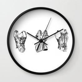 Victorian Corset Wall Clock