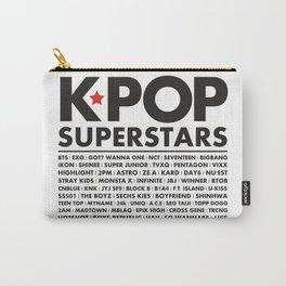 KPOP Superstars Original Boy Groups Merchandse Carry-All Pouch