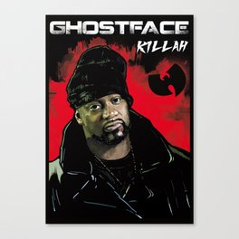 Ghostface Killah Canvas Print