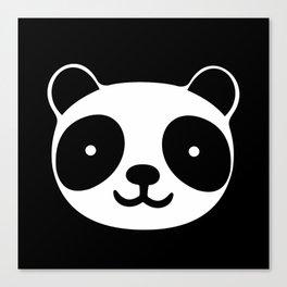 Racing Panda Canvas Print