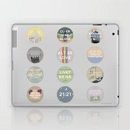 EVAK: A MINIMALIST LOVE STORY VOL. II Laptop & iPad Skin