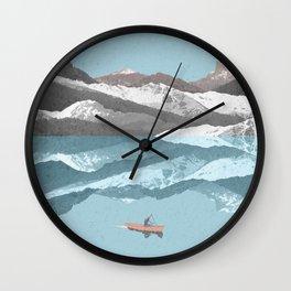 No River Wide Enough Wall Clock