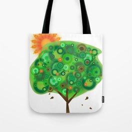 Be Like A Tree Tote Bag