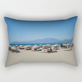 Iztuzu Beach Dalyan Turkey Rectangular Pillow