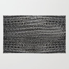 Silver Chain Maille Rug