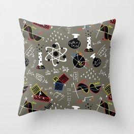 Science Fair Throw Pillow
