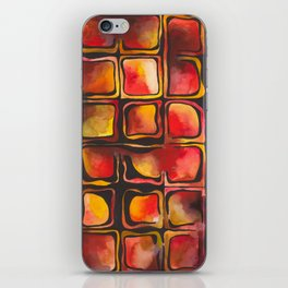 Red Blood Cells in Flow iPhone Skin