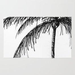 Palm Tree, Illustration Rug