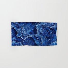 Blue Marble Stone Hand & Bath Towel
