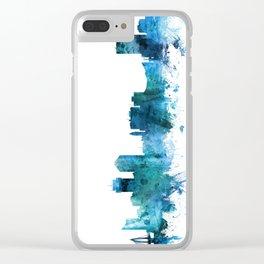 Wichita Kansas Skyline Clear iPhone Case