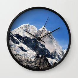 Salkantay Peak, Peru. Wall Clock