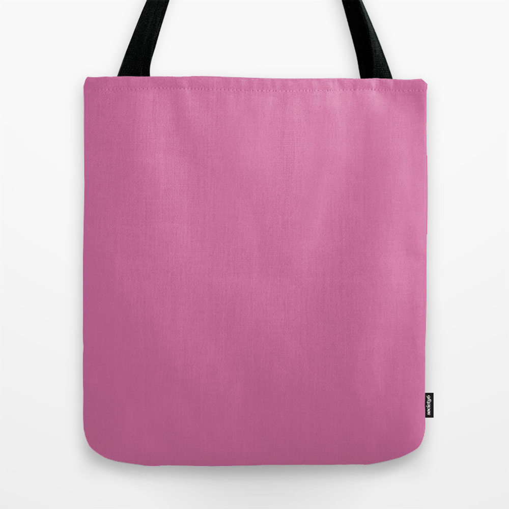 Wild Orchid - Solid Color Tote Bag by Makeitcolorful TBG8743976