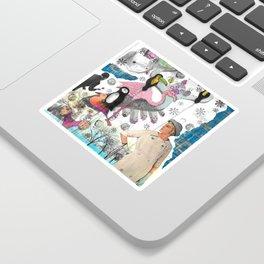 Collage I Sticker