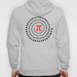 Pi, π, spiral science mathematics math irrational number Hoody