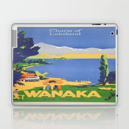 Vintage poster - Wanaka Laptop & iPad Skin