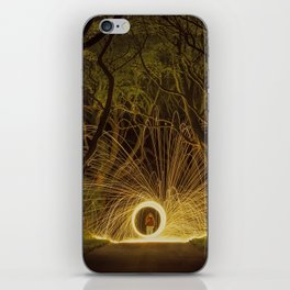 Avenue Of The Blazing Beeches iPhone Skin