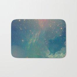 Space fall Bath Mat