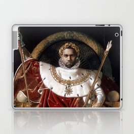 The Emperor Sits on His Throne Laptop & iPad Skin