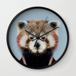 Fashion raccoon Wall Clock