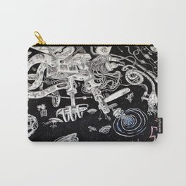 Spacestation Illustration Carry-All Pouch