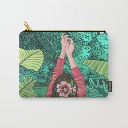 Comic Book Jungle Carry-All Pouch