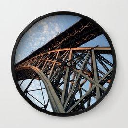 Bridge Structure Wall Clock