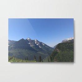 Mountain Ridges Metal Print