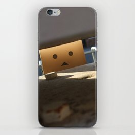 Danbo Through the Letterbox iPhone Skin