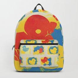 Rubber Duck Monoprint Backpack