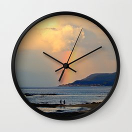 Adventure under the Rainbow Wall Clock