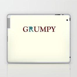 Grumpy Red Laptop & iPad Skin