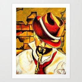 Jazz Swagg Art Print
