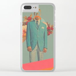 Absent Through my Adultness Clear iPhone Case