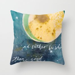 Jungian Moon Throw Pillow
