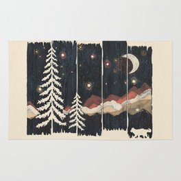 A Starry Night in the Mountains... Rug