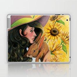 Sunflower Witch Laptop & iPad Skin