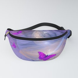 Birth of butterfly wishes Fanny Pack