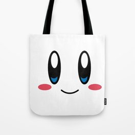 Kirby Face Tote Bag