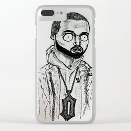 Drake&21S Clear iPhone Case