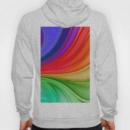 Abstract Rainbow Background Hoody