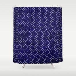 Deep Blue Diamond Impressions Home Decor Shower Curtain