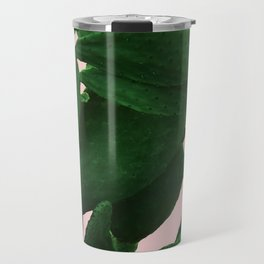 Cactus On Pink Travel Mug