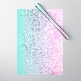 Mermaid Girls Glitter #1 (2019 Pastel Version) #shiny #decor #art #society6 Wrapping Paper