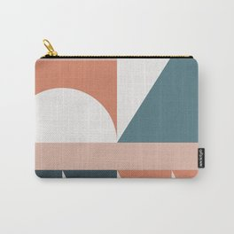 Cirque 03 Abstract Geometric Carry-All Pouch